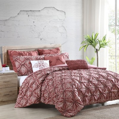Modern Threads 8 Piece Pre-Washed & Printed Comforter Set, Aramis.