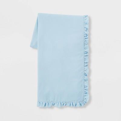 """50"""" x 86"""" Velvet Throw Blanket Blue - Simply Shabby Chic®"""