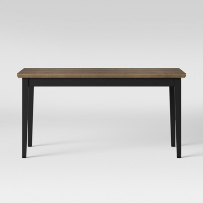 Baden Painted & Wood Dining Table Black - Threshold™