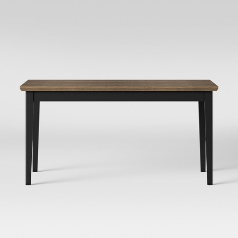 Baden Painted & Wood Dining Table Black - Threshold™ - image 1 of 3