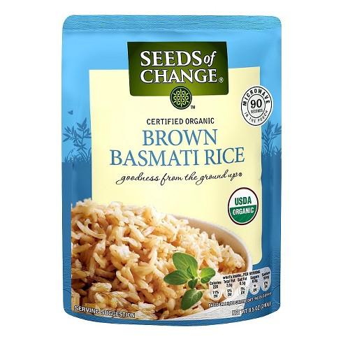 Seeds of Change Organic Brown Basmati Rice - 8.5oz - image 1 of 1