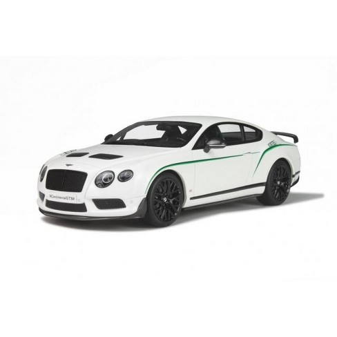 Bentley Continental Gt3 R White Limited Edition To 1500pcs 1 18 Model Car By Gt Spirit Target