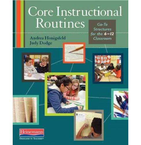Core Instructional Routines : Go-To Structures for the 6-12 Classroom (Paperback) (Andrea Honigsfeld) - image 1 of 1