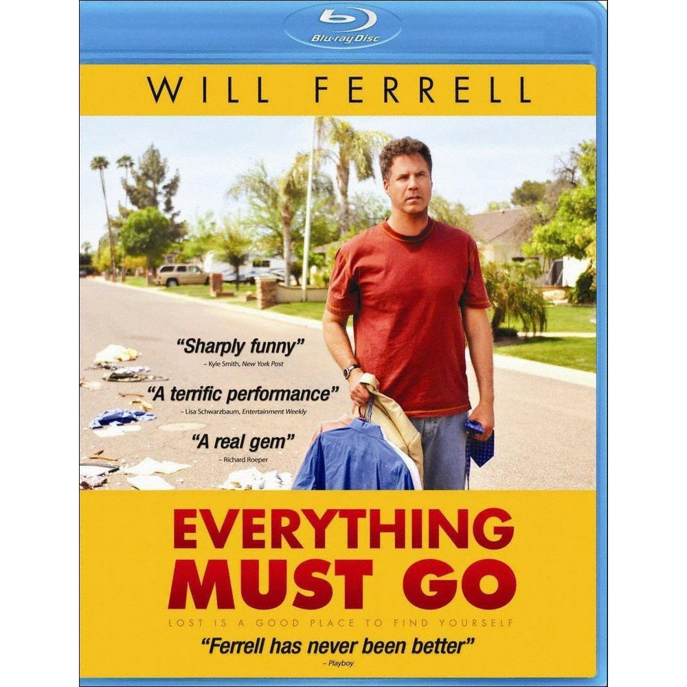 Everything Must Go Blu Ray