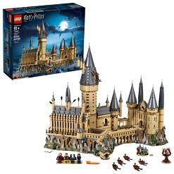 LEGO Harry Potter Hogwarts Castle Advanced Building Set Model with Harry Potter Minifigures 71043