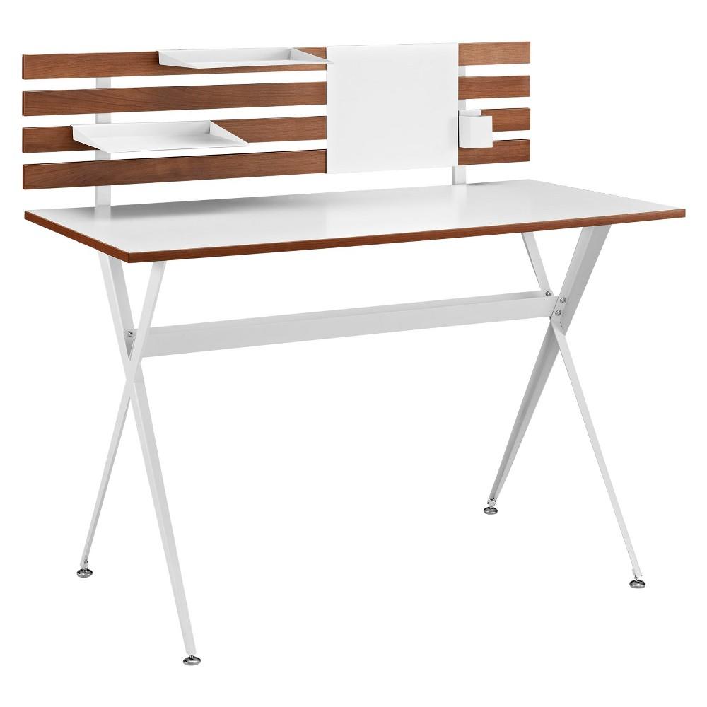 Writing Desk Classic Cherry - Modway