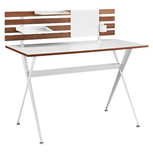 Writing Desk Classic Cherry - Modway - image 1 of 6