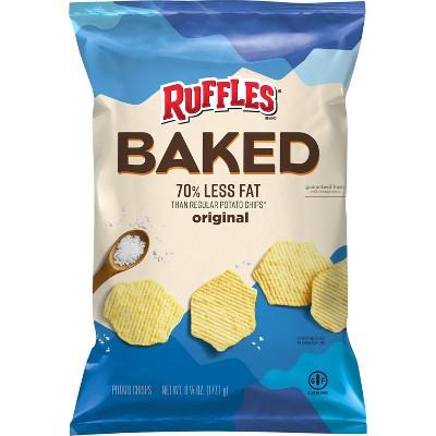 Ruffles Oven Baked Original Potato Crisps - 6.25oz