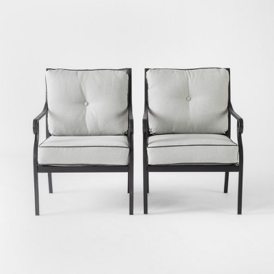 Chester 2pk Aluminum Patio Club Chair - Threshold™