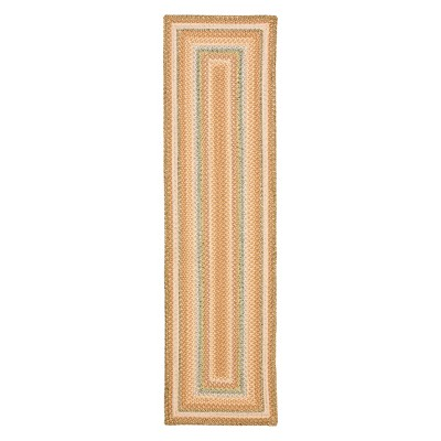 2'3 X10' Stripe Runner Tan - Safavieh