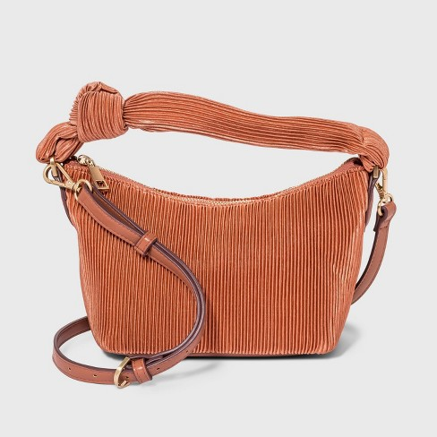 Pleated Crossbody Bag - A New Day™ - image 1 of 3