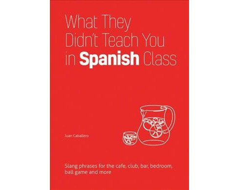 What They Didn't Teach You in Spanish Class : Slang Phrases for the Cafe, Club, Bar, Bedroom, Ball Game - image 1 of 1