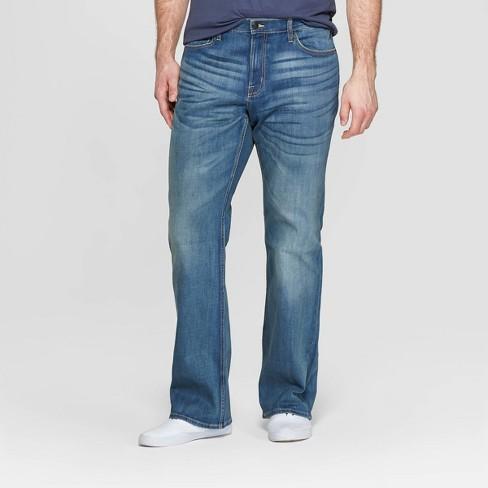 Men's Tall Bootcut Jeans - Goodfellow & Co™ Medium Blue - image 1 of 3
