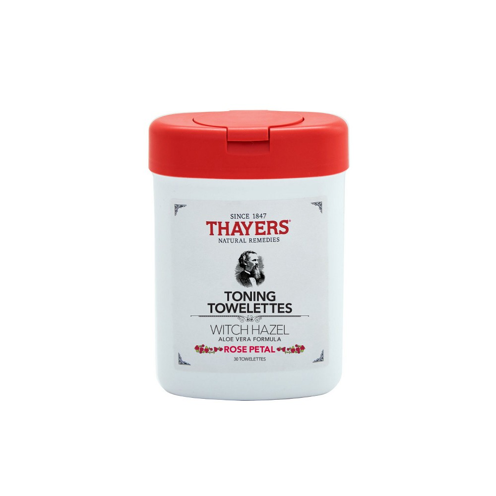 Image of Thayers Rose Petal Toning Towelettes - 30ct