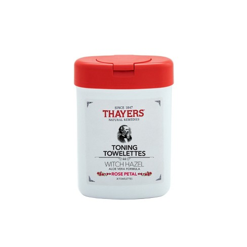 Thayers Rose Petal Toning Towelettes - 30ct - image 1 of 3