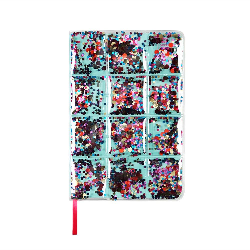 Yoobi 8482 College Ruled Journal 8 34 X5 5 34 Inflated Confetti