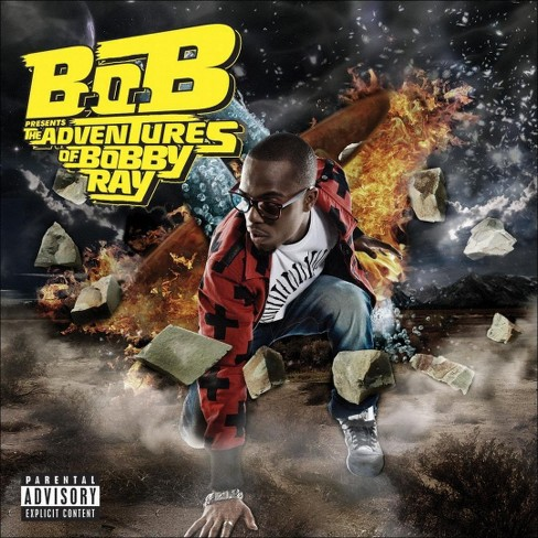 B.o.B - B.o.B Presents: The Adventures of Bobby Ray [Explicit Lyrics] (CD) - image 1 of 1