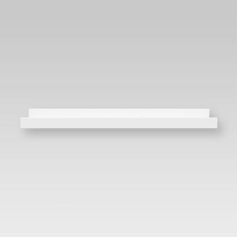 "23"" x 4"" Ledge Wall Shelf White - Threshold™ - image 1 of 4"