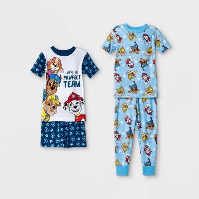 Toddler Boys' 4pc PAW Patrol Pajama Set - Blue