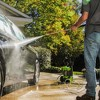 GreenWorks Vertical Pressure Washer Includes Hose and Nozzle Exotic Green - image 3 of 3