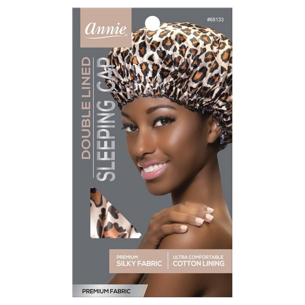 Image of Annie Deluxe Sleeping Cap - Leopard