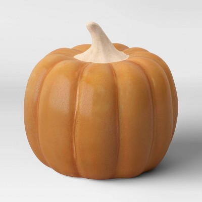 Small Ceramic Pumpkin Honey - Threshold™