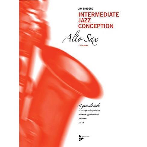 ADVANCE MUSIC Intermediate Jazz Conception: Alto & Baritone Sax Book & CD Intermediate - image 1 of 1