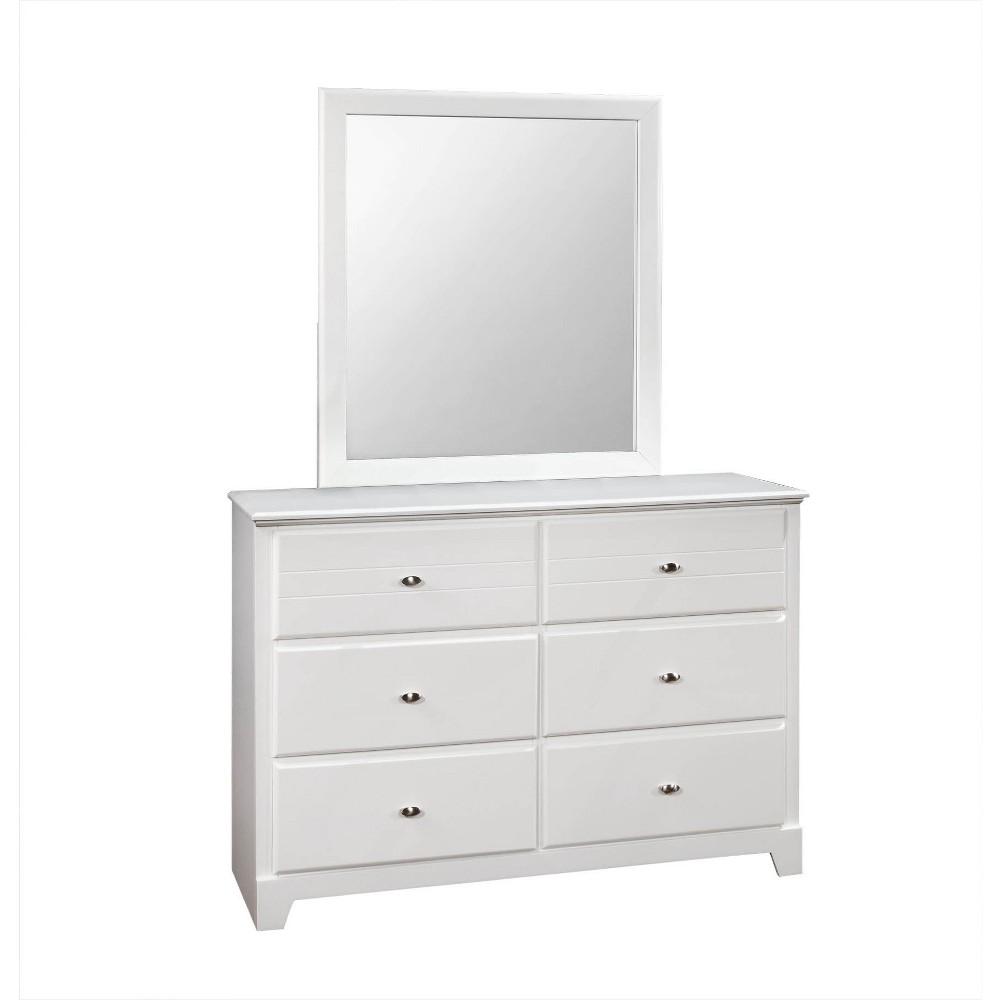 Image of Carrington 6 Drawer Dresser White - Private Reserve