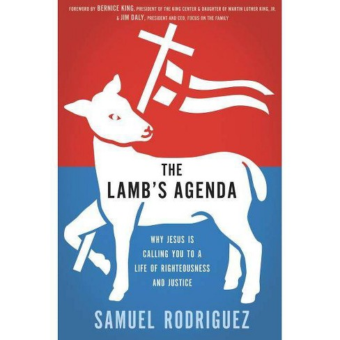 The Lamb's Agenda - by  Samuel Rodriguez (Paperback) - image 1 of 1