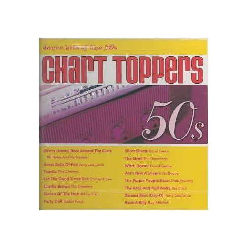 Chart Toppers - Chart Toppers:Dance Hits of the 50's (CD) - image 1 of 2