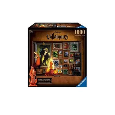 Ravensburger Villainous Puzzle - Scar Puzzle 1000pc