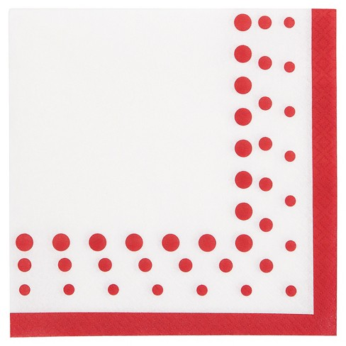 Sparkle and Shine Ruby Napkins, 16 pk - image 1 of 2