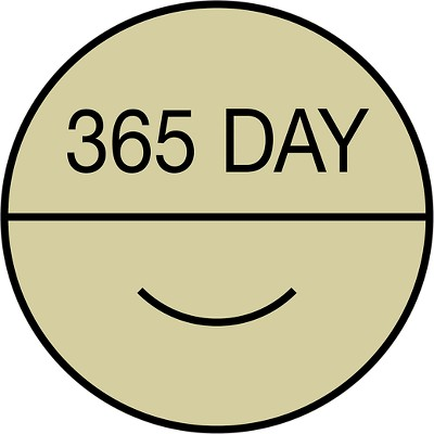 365-Day Happiness Guarantee