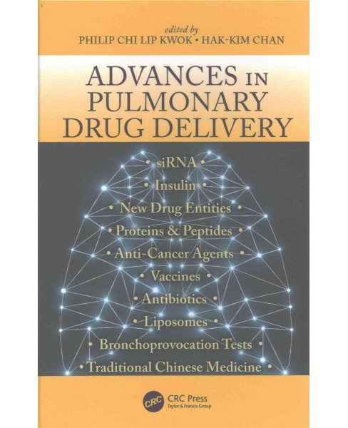 Advances in Pulmonary Drug Delivery (Hardcover) - image 1 of 1