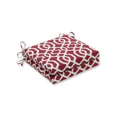 New Geo 2pc Indoor/Outdoor Squared Corners Seat Cushion - Pillow Perfect