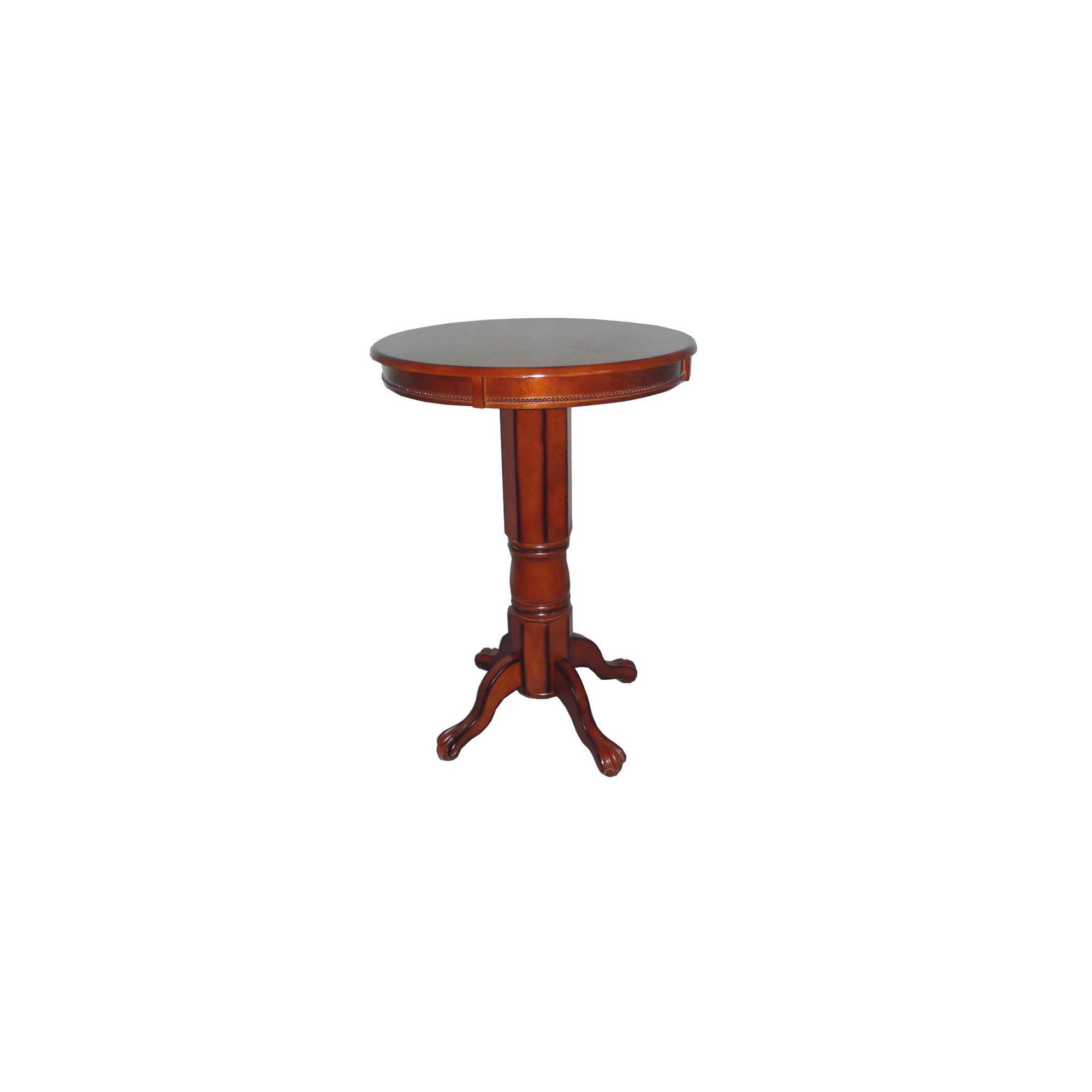 Florence Pedestal Pub Table - Boraam Industries, Brandy