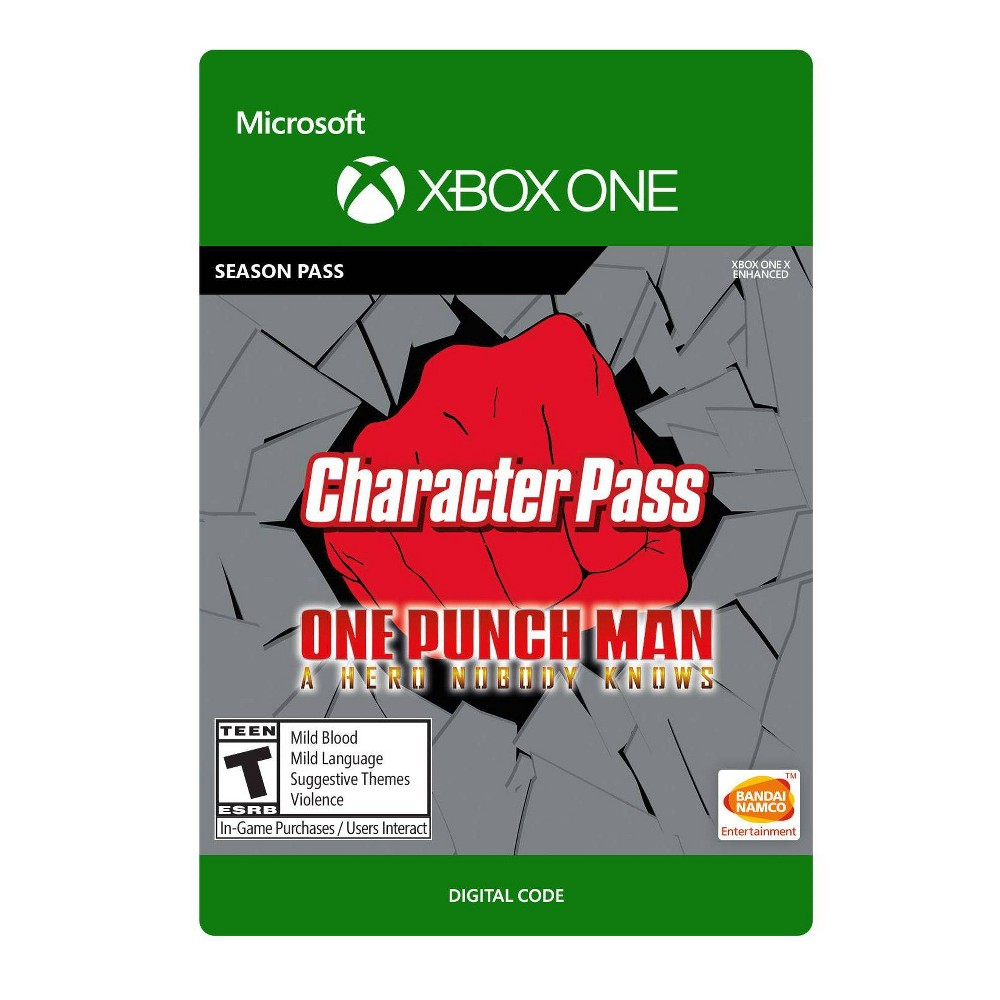 One Punch Man A Hero Nobody Knows Character Pass Xbox One Digital