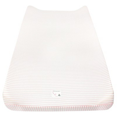 Burt's Bees Baby® Organic Changing Pad Cover - Stripe - Blossom