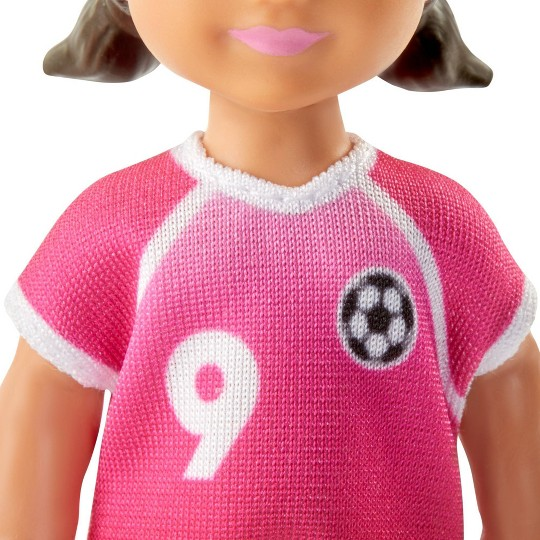 Barbie You Can Be Anything Soccer Coach Blonde Doll and Playset image number null