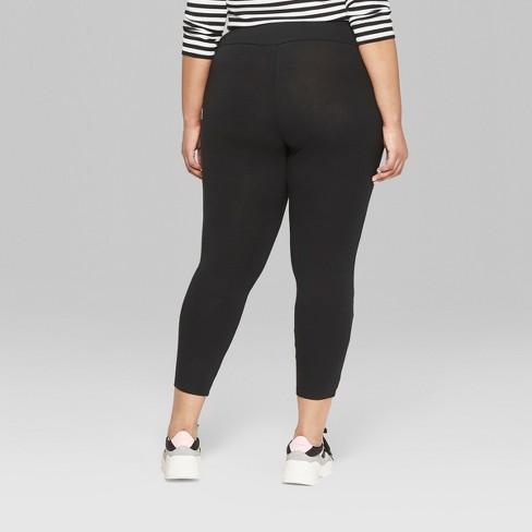 50330c4f6e6 Women s Plus Size High-Waist Leggings - Wild Fable™ Black 4X   Target