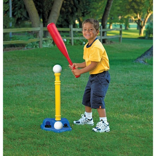 American Plastic Toys American Plastic Toys T-Ball Set image number null
