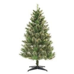 4.5ft Pre-lit Artificial Christmas Tree Virginia Pine Clear Lights - Wondershop™