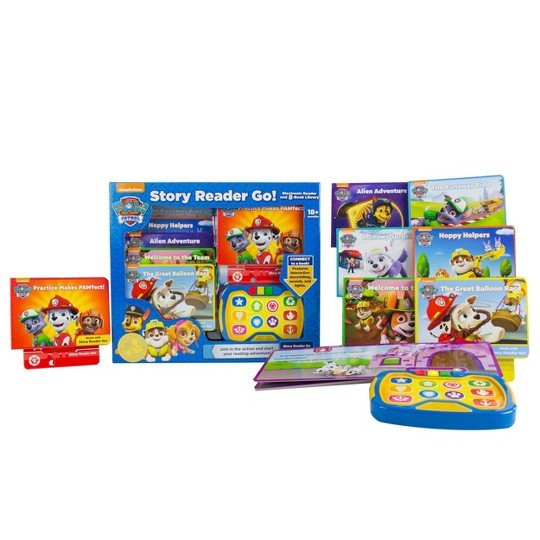 Nickelodeon PAW Patrol Story Reader Go! Electronic 8-book Box Set image number null