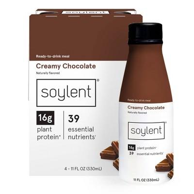 Soylent Nutritional Shake - Creamy Chocolate - 4pk/11 fl oz
