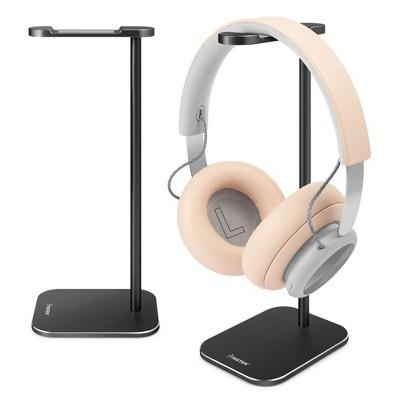 Insten Headphone Stand for Desk Home Office Gaming, Full Aluminum Headset Holder Hanger Perfect for All Size Headphones, Black