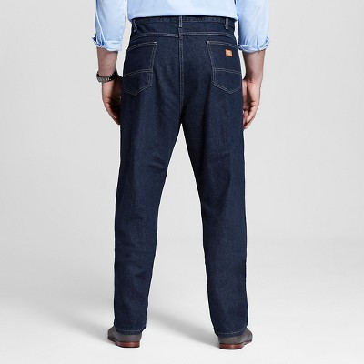 Dickies - Men's Big & Tall Relaxed Straight Fit Denim 5-Pocket Jeans Indigo Blue Washed 48x30, Blue Blue Washed