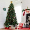 Best Choice Products 12ft Pre-Lit Instant No Fluff Artificial Spruce Christmas Tree w/ 1,250 LED Lights, 4,693 Tips - image 3 of 4