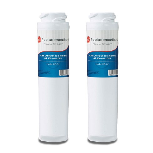 GE GSWF Comparable Refrigerator Water Filter (2pk) - image 1 of 1