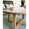 Athens Cement Coffee Table Gray - Leisure Made - image 3 of 4