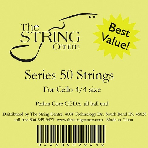 The String Centre Series 50 Cello String Set - image 1 of 1